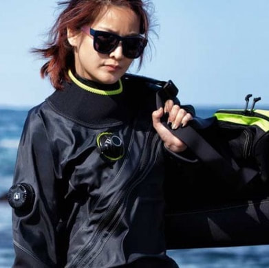 Dry suit diver specialty certification